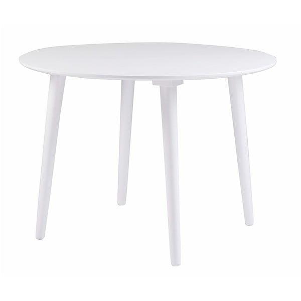 Lotte fehér gumifa étkezőasztal - Folke