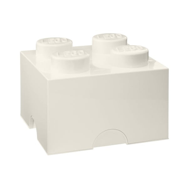 Fehér négyszögletes tároló doboz - LEGO®