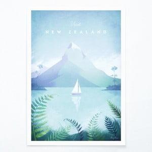New Zealand poszter, A3 - Travelposter