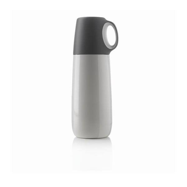 Bopp fehér termosz bögrével, 600 ml - XD Design