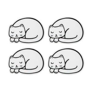 Cutie Cat 4 db-os macska alakú alátét szett - Sass & Belle