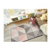 Retudo Naia rózsaszín-szürke szőnyeg, 80 x 150 cm - Universal