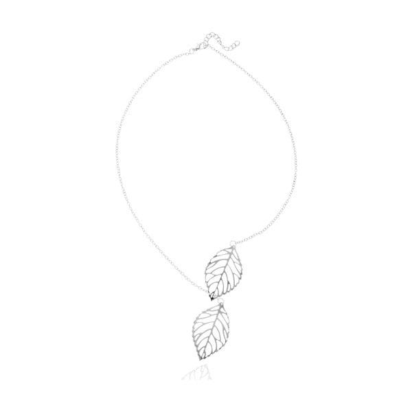 Caroline ezüstszínű nyaklánc - NOMA