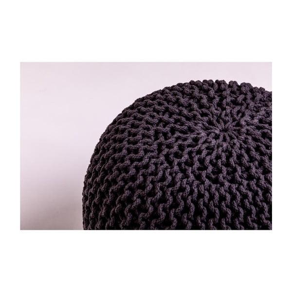 Sötétszürke puff - loomi.design