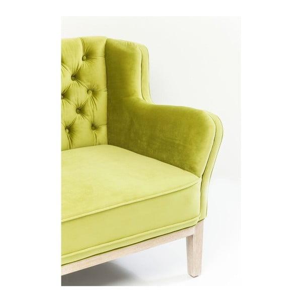Coffee Shop zöld kétszemélyes kanapé - Kare Design