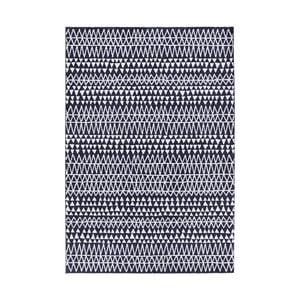 Madison fekete-fehér szőnyeg, 160x230 cm - Mint Rugs