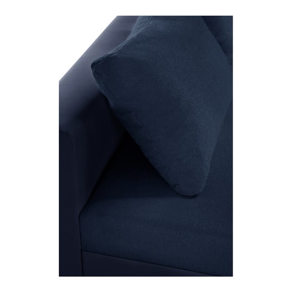 Aventure sötétkék kanapé, bal oldalas - Interieur De Famille Paris