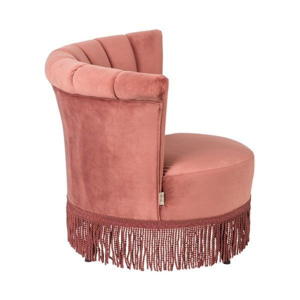 Flarir rózsaszín fotel - Dutchbone