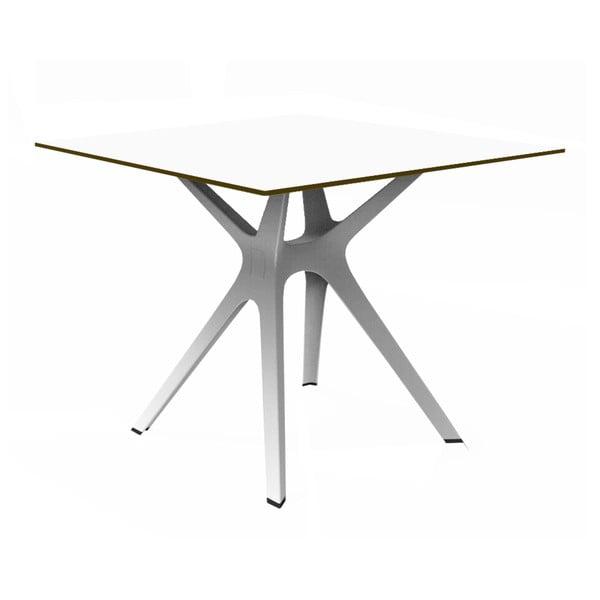 Vela fehér étkezőasztal, 90x90 cm - Resol