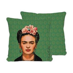 Frida Draw kétoldalas díszpárna, 45 x 45 cm - Madre Selva
