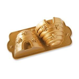 Bee Hive arany színű sütőforma, 2,4 l - Nordic Ware