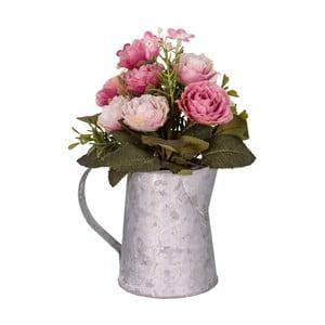 Szürkésfehér váza művirágokkal - Antic Line