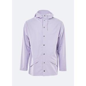 Světle fialová unisex bunda s vysokou voděodolností Rains Jacket, velikost L/XL