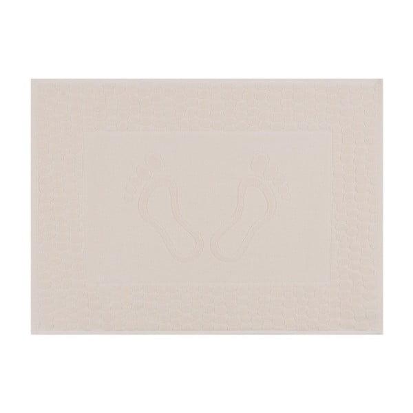 Pastela krém színű fürdőszobaszőnyeg, 70 x 50 cm