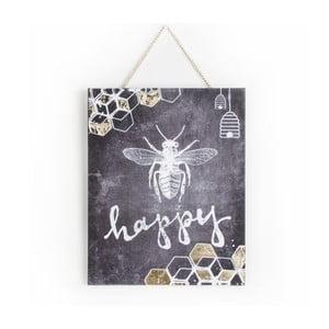 Bee Happy kép, 40 x 50 cm - Graham & Brown