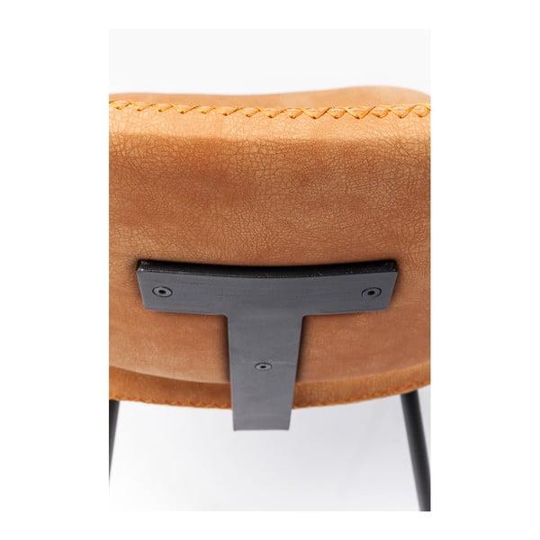 Barber narancssárga étkezőszék, 4 darab - Kare Design