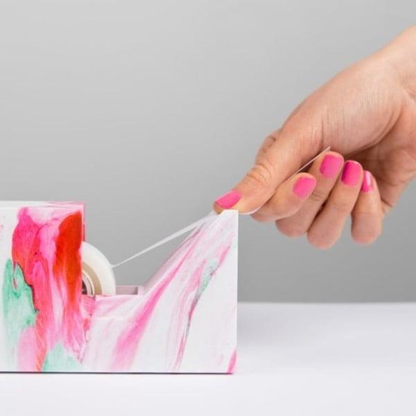 Marble kartonpapírató állvány - Just Mustard