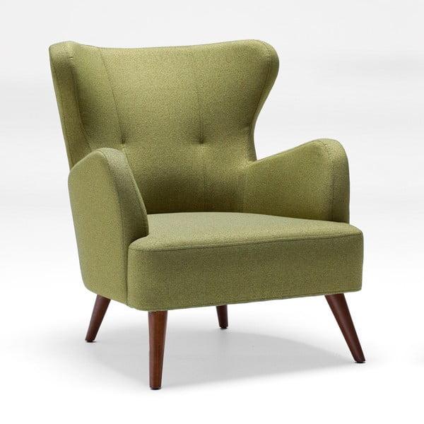 Home Jane olíva zöld füles fotel - Balcab