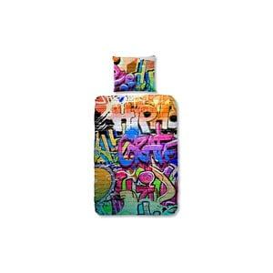 Graffity gyerek pamut ágyneműhuzat, 140 x 200 cm - Good Morning