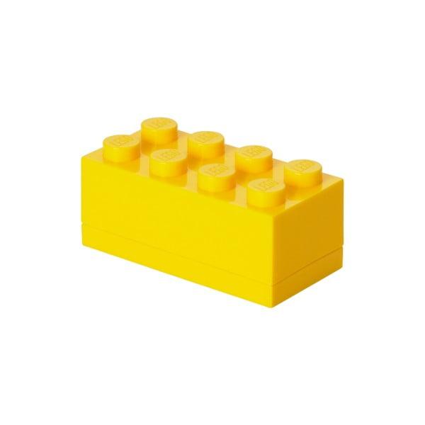 Mini sárga tárolódoboz - LEGO®