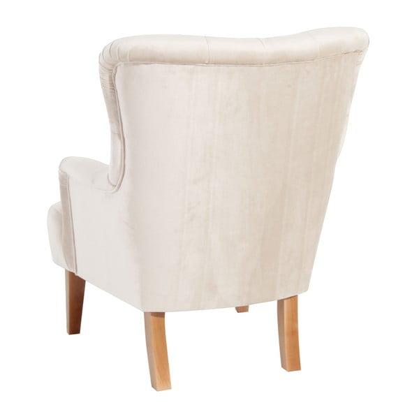 Brandon Suede krémszínű fotel - Max Winzer