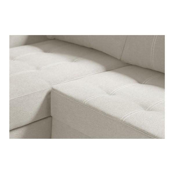 Succes krémszínű kanapé, bal oldalas - Interieur De Famille Paris