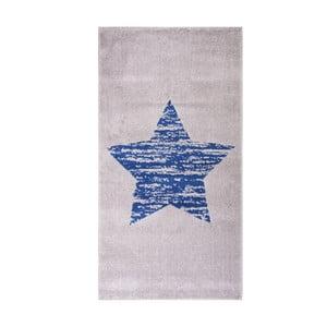 Dětský modrý koberec Nattiot Lucero, 80x150cm