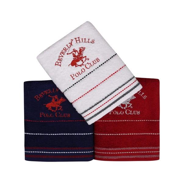 Polo Club törölközőkészlet, 3 darabos