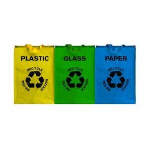 3 részes szelektív hulladékgyűjtő táska - Premier Housewares