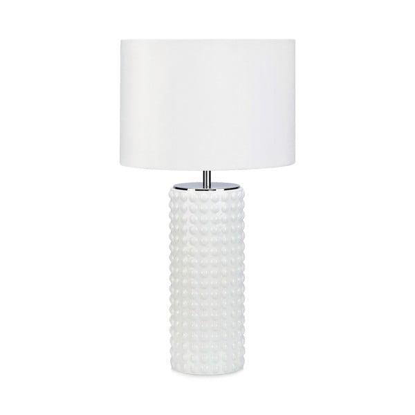 Proud fehér asztali lámpa, ø34cm - Markslöjd