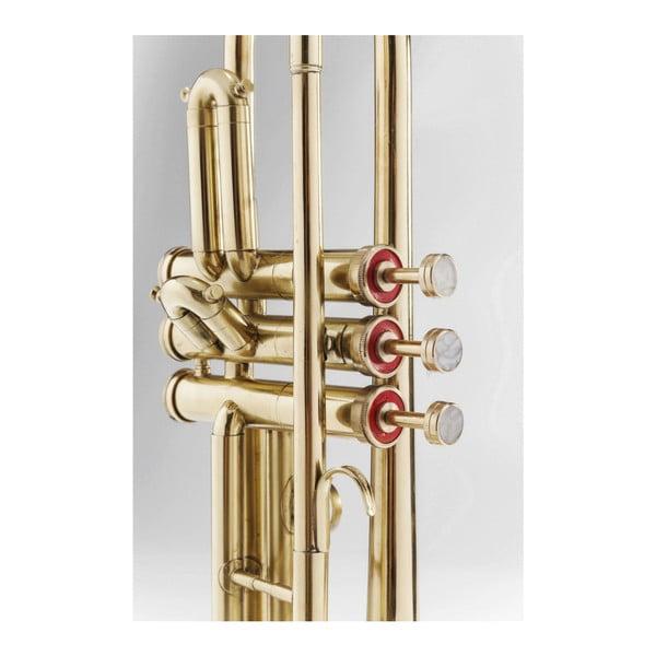 Trumpet polírozott sárgaréz asztali lámpa - Kare Design