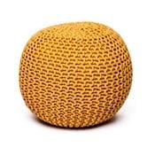 Mustársárga puff - loomi.design