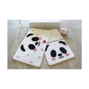 Alessia Panda 3 db-os fürdőszobai kilépő szett