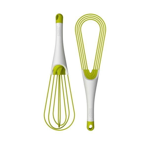Twist Whisk zöld-fehér összecsukható habverő - Joseph Joseph