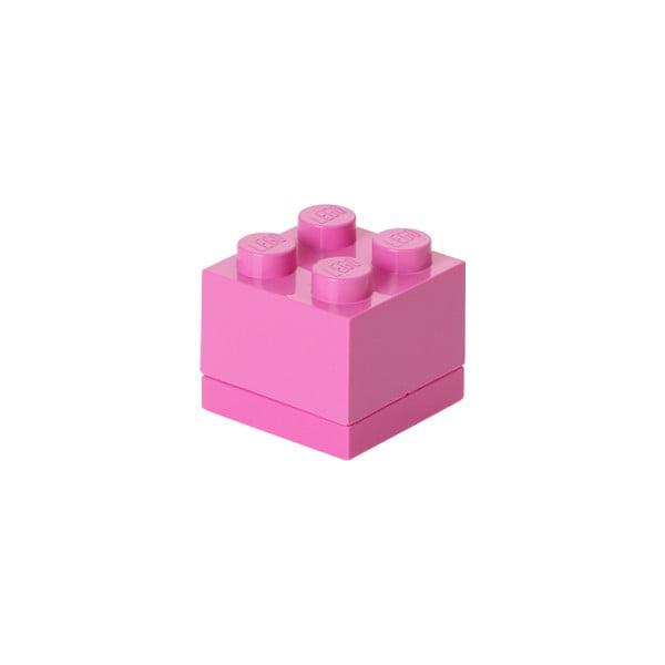 Mini Box rózsaszín tárolódoboz - LEGO®