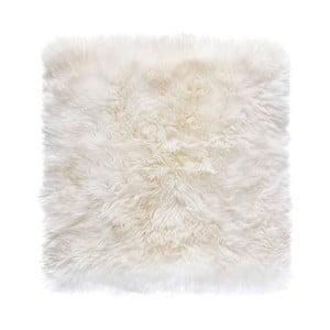 Zealand fehér bárányszőrme szőnyeg, 70 x 70 cm - Royal Dream