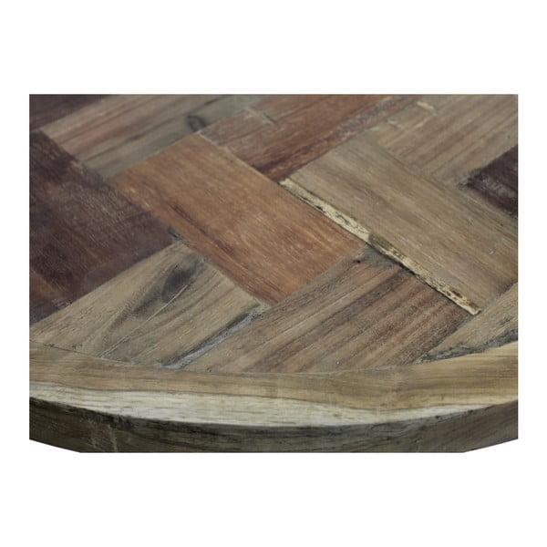 Mosaic dohányzóasztal, teakfa asztallappal - HSM Collection