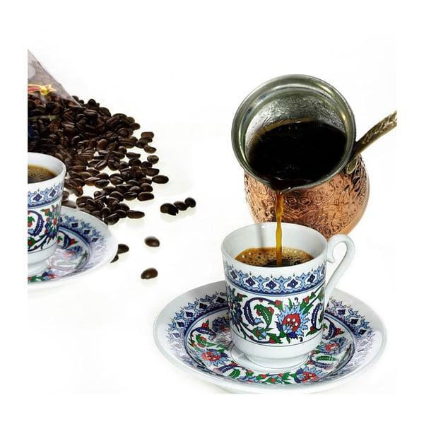 Ornament 6 darabos kávéscsésze szett, 50 ml - Kutahya