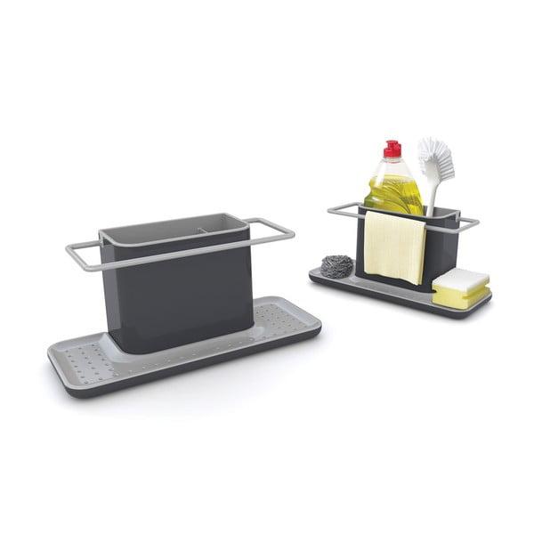 Caddy Large szürke állvány mosogató eszközökhöz - Joseph Joseph