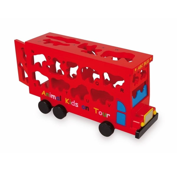 ABC Bus állatos fajáték - Legler