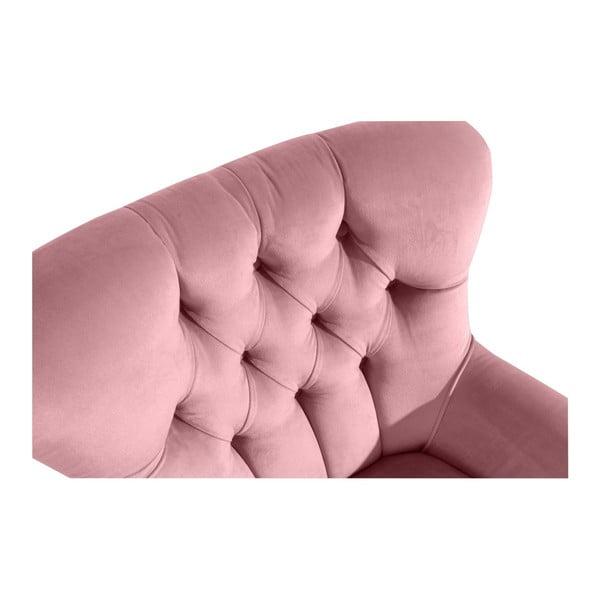 Brandon Suede rózsaszín fotel - Max Winzer