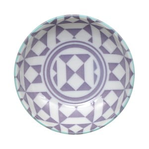 Geo Eclectic lila tál, 9,5 x 3 cm - Tokyo Design Studio