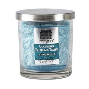 Uborka és víz illatú gyertya, égési idő 45 óra - Villa Collection