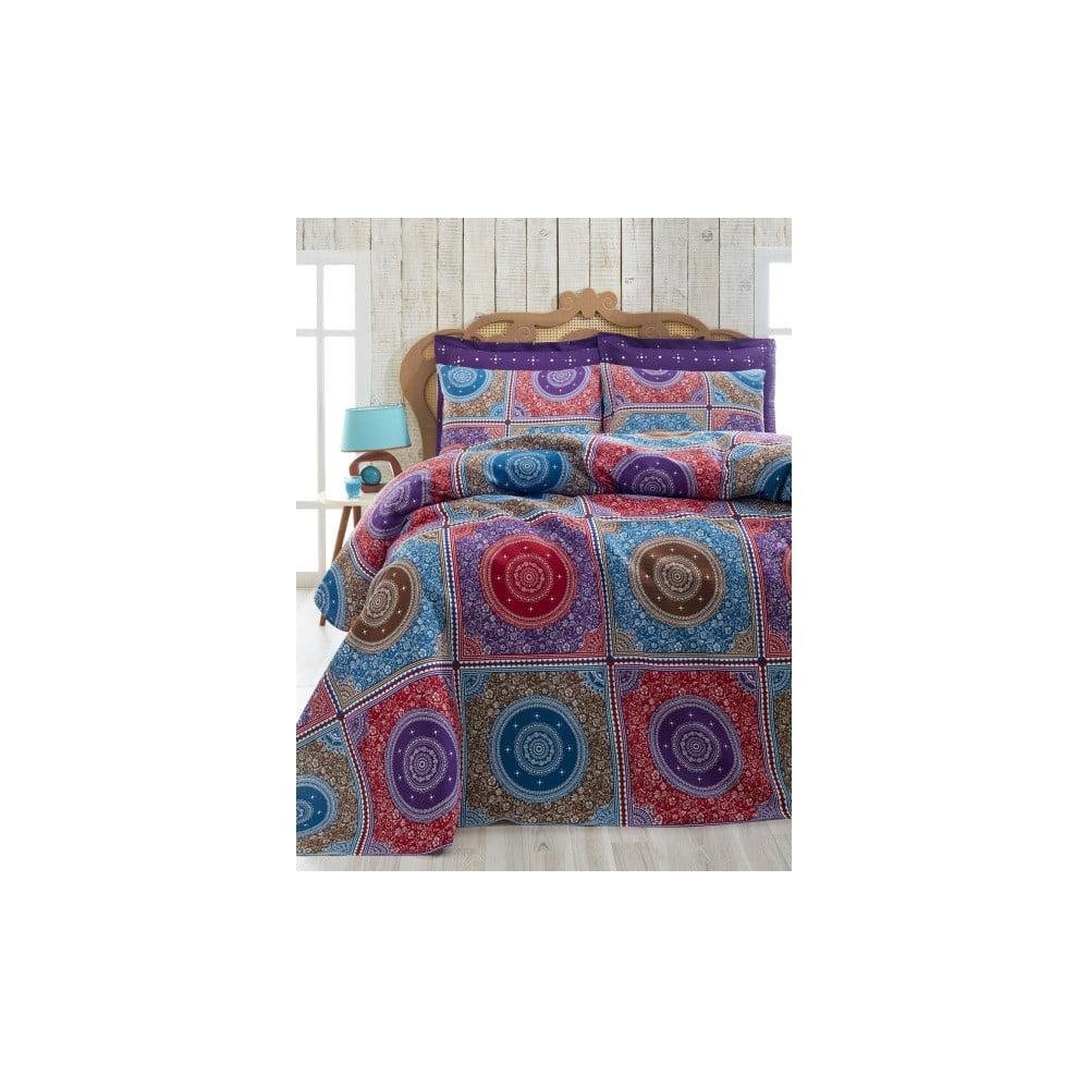 Ornament Purple könnyű kétszemélyes ágytakaró 0d005d2608