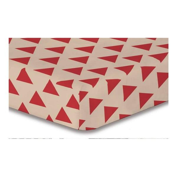 Hypnosis Triangles Cintia mikroszálas lepedő, 200 x 220 cm - DecoKing