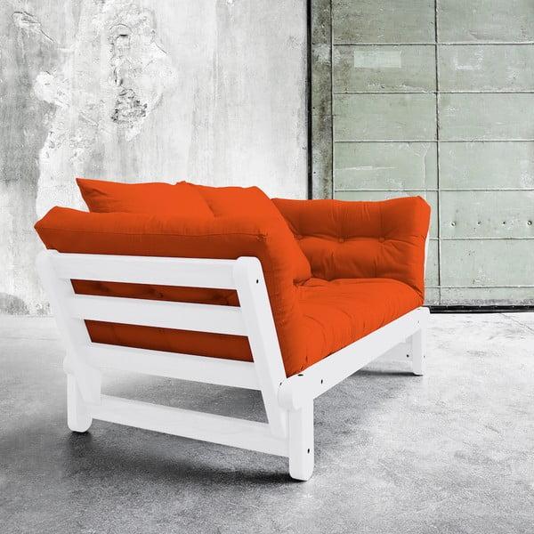 Beat White/Orange kinyitható kanapé - Karup
