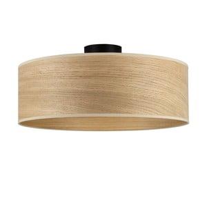 TSURI XL mennyezeti lámpa, tölgyfa lámpaburával - Sotto Luce