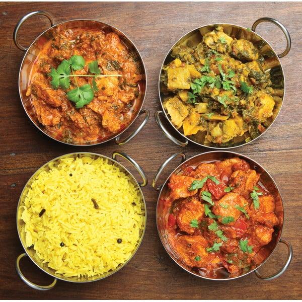 Indian rozsdamentes tálka, ⌀ 19 cm - Kitchen Craft