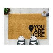 You Are természetes kókuszrost lábtörlő, 40 x 60 cm - Artsy Doormats