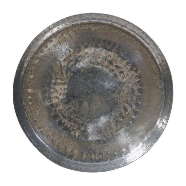 Waitress dekorációs tálca, ezüstszínű, Ø 44 cm - BePureHome